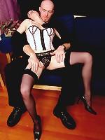 Malika having hardcore stocking sex