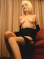 Angelina Dee smolders in this Hollywood noir inspired set.