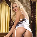 Gorgeous Olga is keen to impress in her sexiest lingerie.