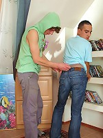 Gilbert&Vincent pantyhose admiring homosexuals