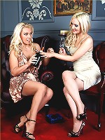 Lana loves to have a little bit of fun with a gorgeous lesbian and some toys