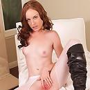 Nubiles.net Kali Kenzington - Gorgeous Nubile babe in boots finger fucks her sweet pink pussy