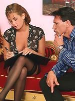 Busty Pornstar Tory Lane in hardcore stocking sex