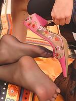 Bambi & Zafira's foot fetish