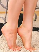 Lilian White's foot fetish set