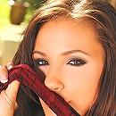 Gorgeous schoolgirl