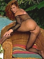 Big boob babe wanting full stockings sex outdoor